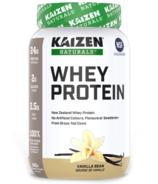 Kaizen Naturals Whey Protein Vanilla Bean