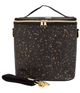 SoYoung Black Paper Lunch Poche Gold Splatter