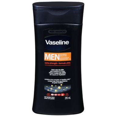Vaseline Intensive Care Men Repairing Moisture Extra Strength Lotion
