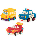 B. Toys Battat B.Lively Mini Vehicles Gift Set