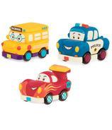 B. Toys Battat B.Lively Mini Vehicles Gift Set