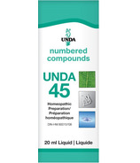 UNDA Numbered Compounds UNDA 45 Homeopathic Preparation