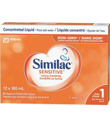 Similac Sensitive Concentrated Lactose-Free Liquid Formula