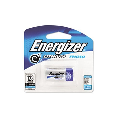 Energizer E2 Lithium Photo Battery 123