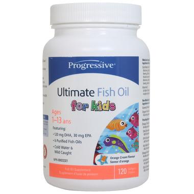 Progressive Ultimate Fish Oil for Kids