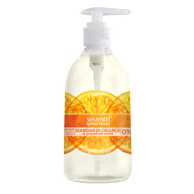 Seventh Generation Hand Wash Mandarin Orange & Grapefruit