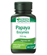 Adrien Gagnon Enzymes de papaye