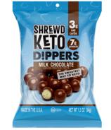 Shrewd Food Keto Dippers Milk Chocolate