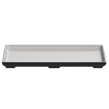 Magisso White Line Large Serving Plate