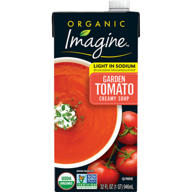 Imagine Foods Low Sodium Organic Creamy Garden Tomato Soup