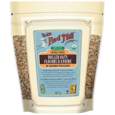 Bob\'s Red Mill Organic Extra Thick Rolled Oats