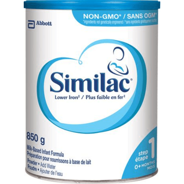 Similac Step 1 Lower Iron Milk-Based Infant Formula Powder