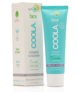 COOLA Face Mineral Sunscreen SPF 30 Cucumber Matte Finish