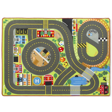 Melissa & Doug Jumbo Roadway Activity Rug