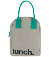 Fluf Zippered Lunch Teal - Well.ca Exclusive