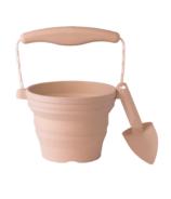 Scrunch Seeding Pot with Spade Blush