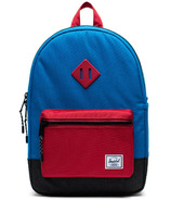 Herschel Supply Heritage Backpack Kids Imperial Blue Red Black Crosshatch