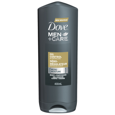 Dove Men +Care Oil Control Micro Moisture Body & Face Wash