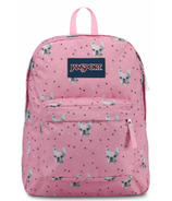 Jansport Super Break Backpack Fierce Frenchies
