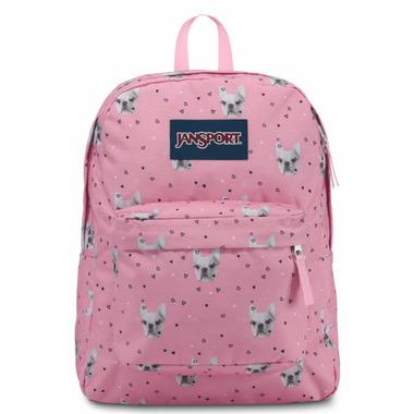 Jansport Super Break Backpack Fierce Frenchies