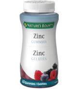 Nature's Bounty Zinc Gummies