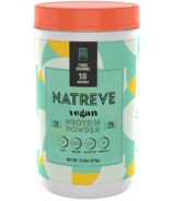 Natreve Vegan Protein Powder Fudge Brownie