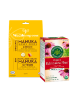 Cold Relief Tea & Honey Bundle