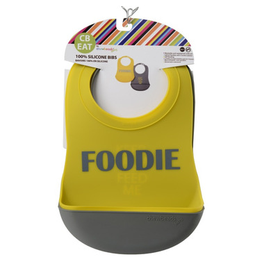 Chewbeads Silicone Bibs Foodie Boys