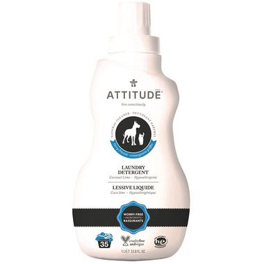 ATTITUDE Furry Friends Laundry Detergent Coco Lime