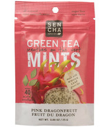 Sencha Naturals Sugar Free Green Tea Mints Pink Dragonfruit