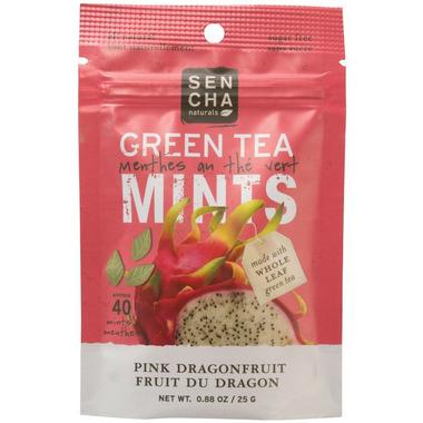 Sencha Naturals Sugar Free Green Tea Mints Pink Dragonfruit