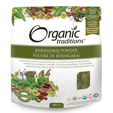 Organic Traditions Bhringaraj Powder