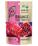 Go Organic Pomegranate Hard Candies