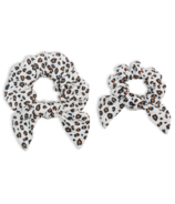 Lulujo Mommy & Me Scrunchies Leopard