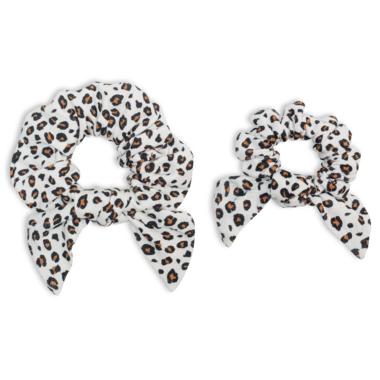 Lulujo Mommy & Me Scrunchies Leopard