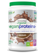 Genuine Health Fermented Organic Vegan Proteins+ Chocolate