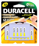Duracell Hearing Aid Batteries Size 10