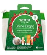 Weleda Shine Bright Holiday Travel Essentials Set