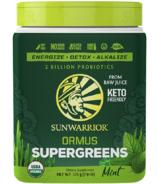 Sunwarrior Ormus Super Greens Mint