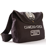 Red Canoe CBC Camera Crew Shoulder Bag Black