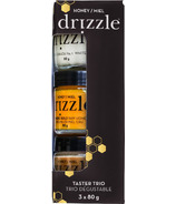 Drizzle Mini Honey Taster Trio