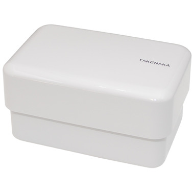 Takenaka Bento-Box Rectangle Glacier Grey Lunch Box