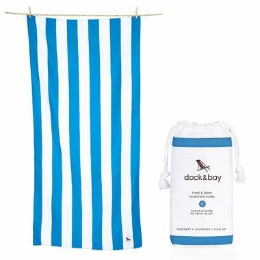 Dock & Bay Quick Dry Towel Cabana Tulum Blue