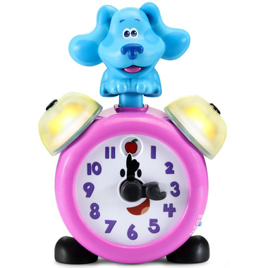 LeapFrog Blue\'s Clues & You! Tickety Tock Play & Learn Clock
