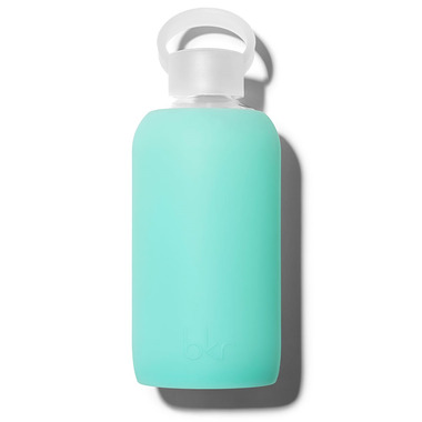 bkr Melt Glass Water Bottle Sheer Holiday