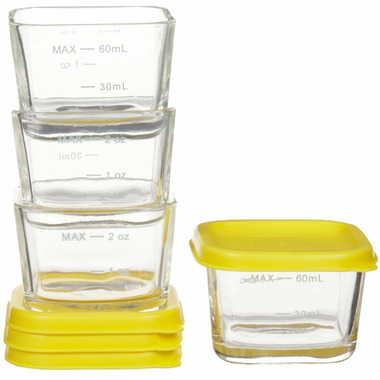 Green Sprouts Fresh Baby Food Glass Cubes Yellow