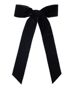 Kristin Ess Hair Bow Slide Black