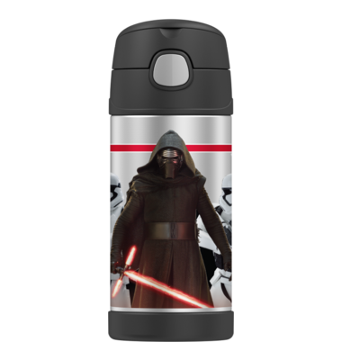 Thermos Stainless Steel Vacuum Insulated Straw Bottle Star Wars EP VII