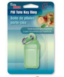 Card Health Care Plastic Key Ring Pill Tote