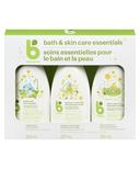 babyganics Bath & Skin Care Essentials Kit Chamomile Verbena